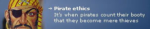 Pirate Ethics